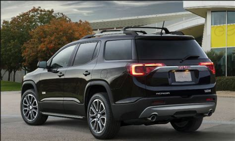 Gmc Acadia 2020 Interior by 2020 Gmc Acadia Denali Specifications Price All Terrain