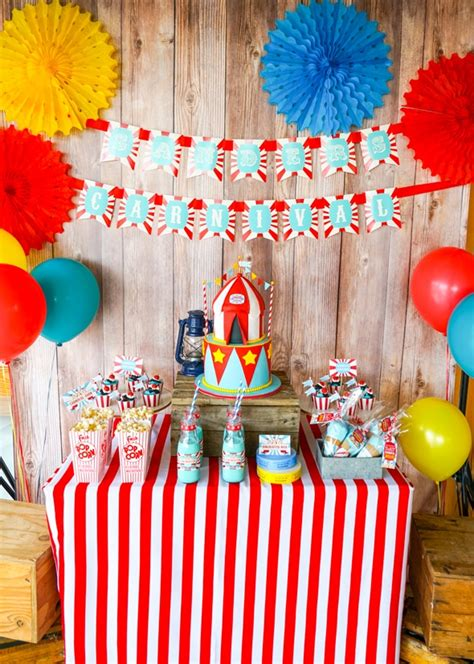 incredible carnival party ideas pretty  party