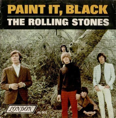paint it black testo the rolling stones paint it black traduzione testo