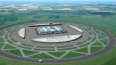 Dutch scientist proposes circular runways for airport efficiency Curbed