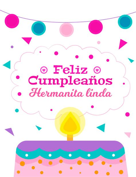 imagenes tiernas de feliz cumpleaños para mi hermana linda imagen de cumplea 241 os feliz para mi hermana