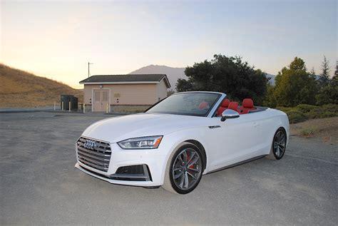 Audi S5 Test by 2018 Audi S5 Cabriolet 3 0t Test Drive Review Autonation