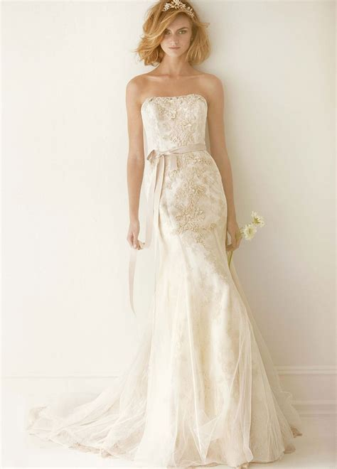 sweet corded trumpet wedding dress with