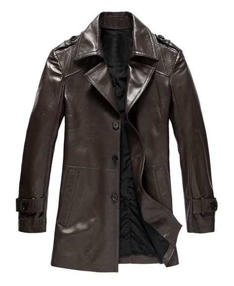 Rugged Coats by Buy Rugged And Trendy Mens Leather Coat