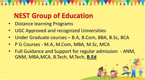 Ugc Approved Mba Distance Education Universities by Ppt Best Play School In Gurgaon Powerpoint Presentation