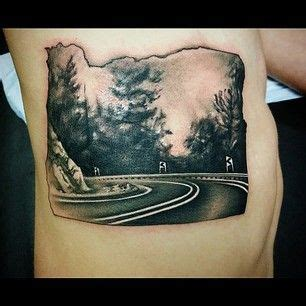 oregon ducks tattoo designs state tattoos oregon and us states on