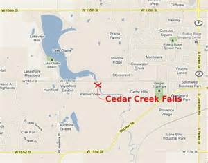 cedar creek falls olathe kansas