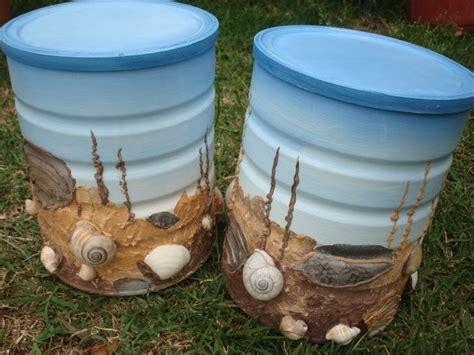 como decorar latas de tabaco botes de leche reciclados uso de botes pinterest