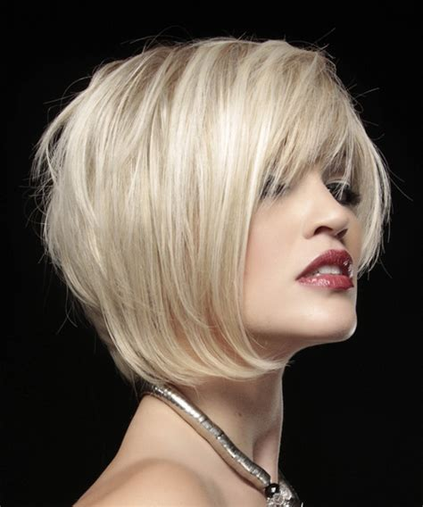 side view of asymmetric hairstyles short straight alternative asymmetrical hairstyle light