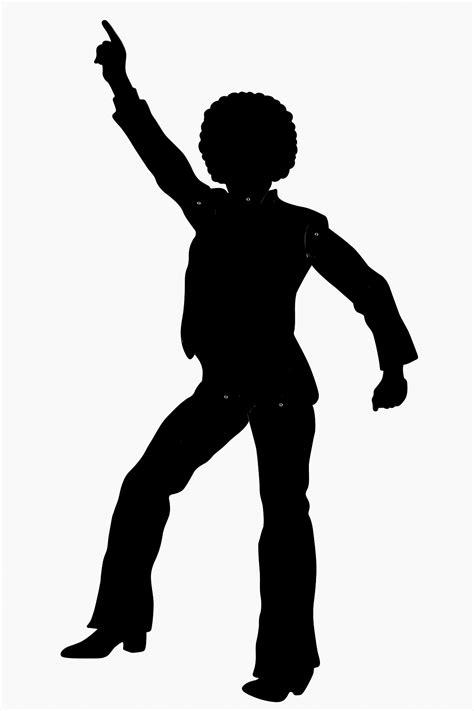 Free Disco Cliparts Silhouette, Download Free Clip Art