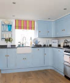 Pale Blue Kitchen Cabinets Something Blue 19 Amazing Kitchen Decorating Ideas Real Simple