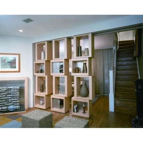 bookshelf partition furniture bookshelf with books unique room divider