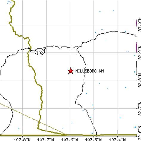 hillsboro, new mexico (nm) ~ population data, races