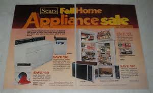 1978 5 page Sears Appliance Ad   Kenmore Dryer, Microwave