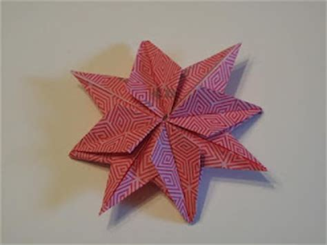 8 Pointed Origami - 8 pointed origami craft ideas origami