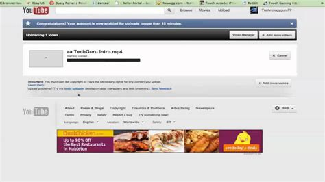 youtube tutorial upload video youtube tutorial how to upload videos to youtube 2012