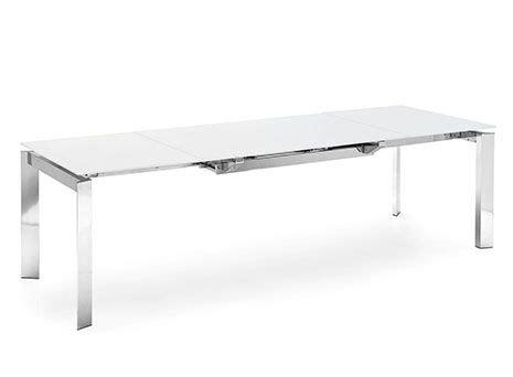 tavolo cristallo allungabile calligaris tavolo allungabile tavoli design allungabili calligaris