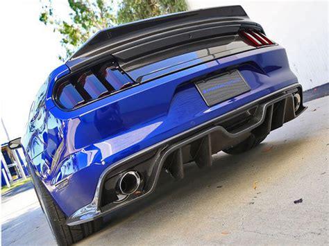mustang carbon fiber trunk 2015 2016 ford mustang type st carbon fiber deck trnk lid