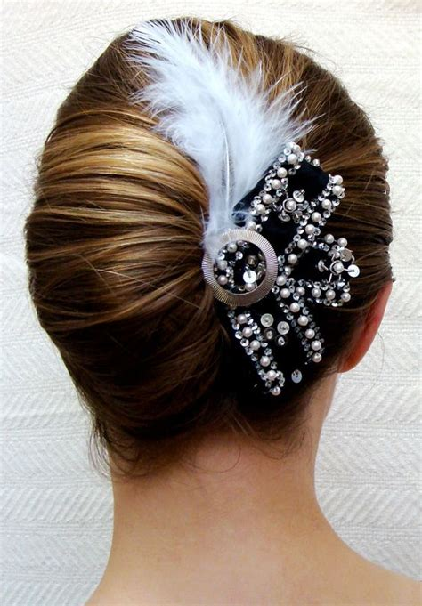 1920 hair clips 1920s hair accessories flapper headpiece and 1920s hair