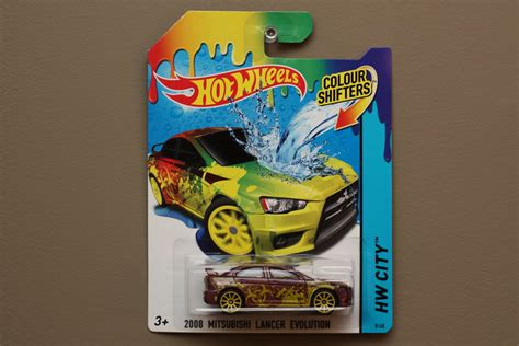 film hot wheels 2015 hot wheels 2015 color shifters 2008 mitsubishi lancer