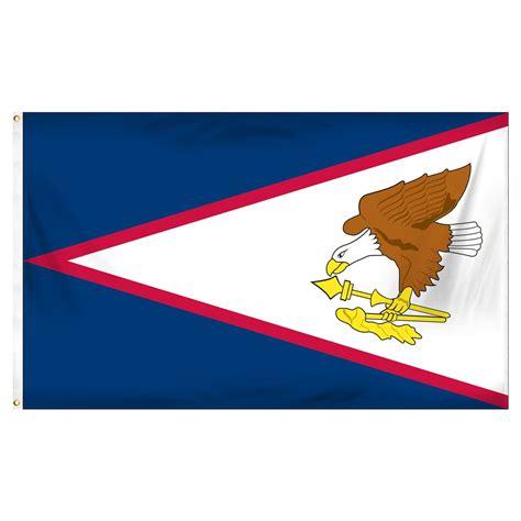american samoa flag 3 x 5 polyester