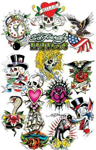 ed hardy skull tattoo designs buy ed hardy 4 temporary vending tattoos