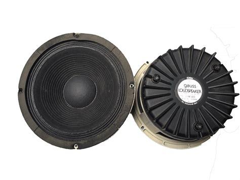 Speaker Cannon 10 Inch gauss 10 inch speaker pair 3184a