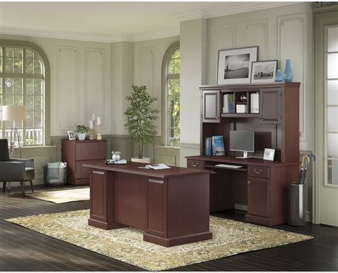 bennington harvest cherry home office set from kathy