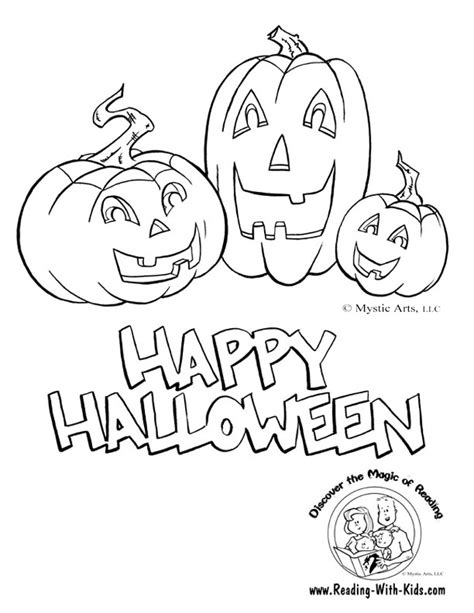 printable halloween coloring pages and activities halloween