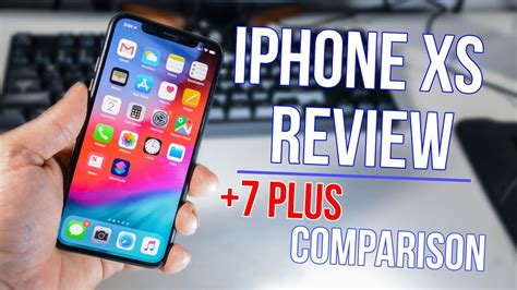 iphone xs review   comparison youtube