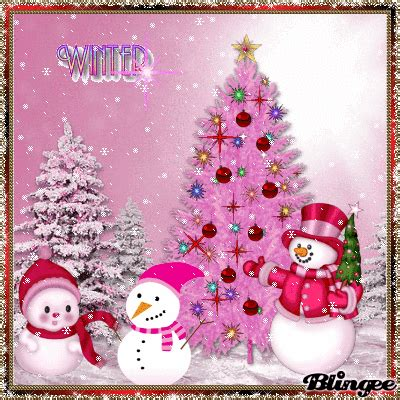 pink winter snowman tree christmas tree wallpaper snowman christmas tree magical christmas