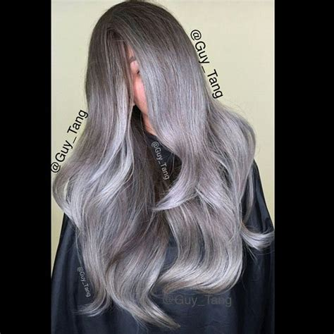 guy tang grey hair hair color cut and style by guy tang balayage ombre
