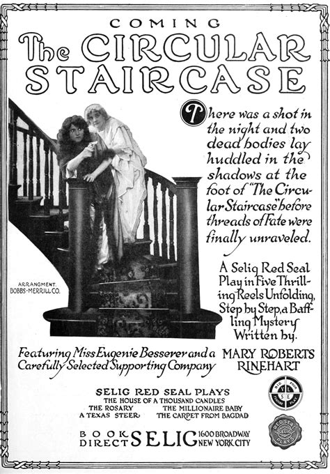 The Circular Staircase file the circular staircase 1915 jpg wikisource the