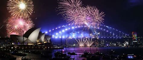 the new year is rung in from australia to north korea and