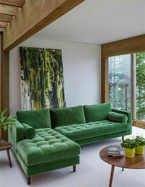 como decorar sala color verde decoraci 243 n en verde esmeralda para casas 2019 2020