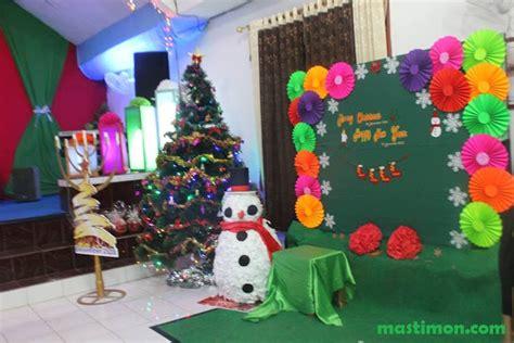 Hiasan Rumah Dekorasi Natal Gereja 3 dekorasi natal terbaru dan terbaik hasil karya gbt quot yesus alfa omega quot bukuan
