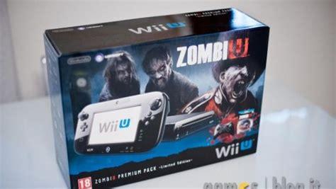 vendo wii u premium zombiu wii u il nostro unboxing dello zombiu premium pack in 70
