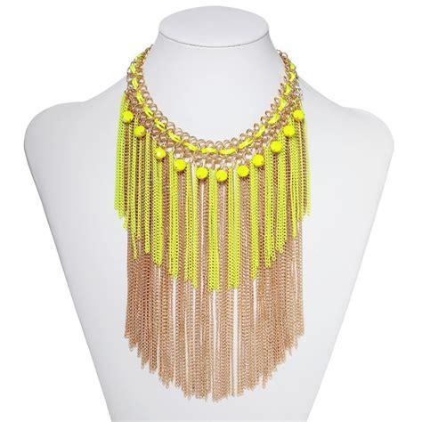 Fringe Necklace fringe necklace eureka