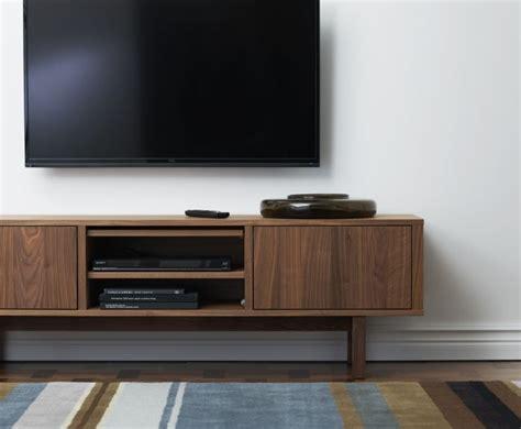 stockholm tv unit walnut veneer a tv left and
