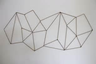 geometric pattern diy diy geometric photo display the caldwell project