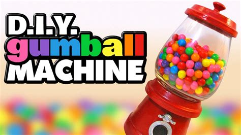 How To Make A Paper Gumball Machine - how to make a gumball machine diy decoration