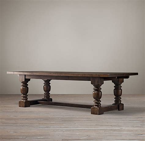 Restoration Hardware Dining Table Restoration Hardware 1930 S Farmhouse Extension Rectangular Dining Table Decor Look Alikes
