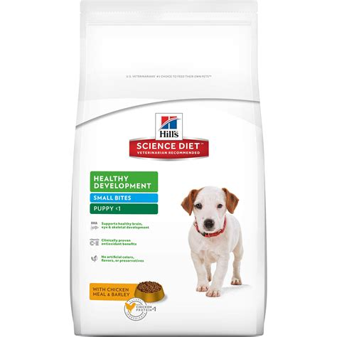 science diet puppy food hill s science diet healthy development small bites puppy food petco