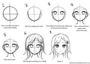 how to draw anime step by step step by step draw an anime character drawing