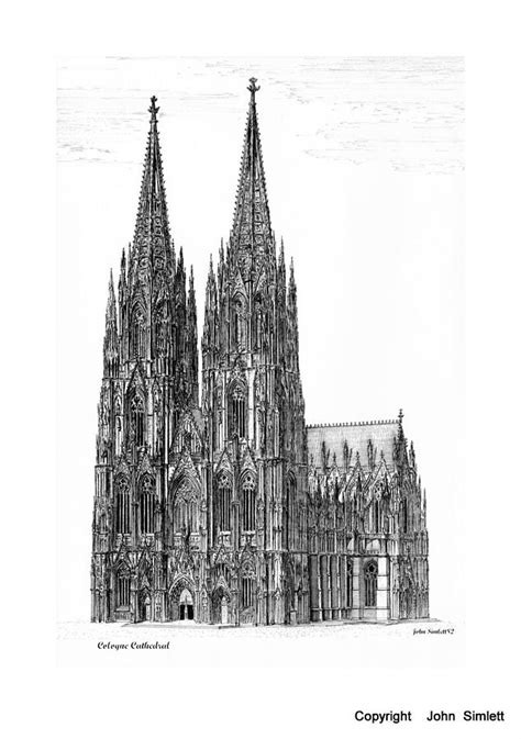 Ipad Floor Plan App cologne cathedral drawing by john simlett