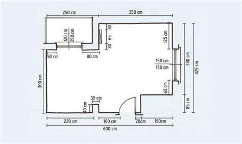 misure di una cucina come prendere le misure e progettare cucina e bagno