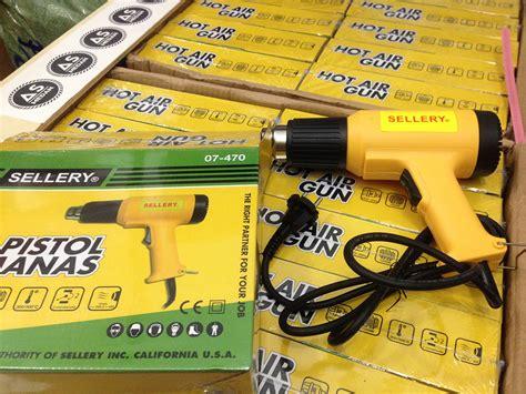 Alat Sablon Pengering Sablon Plastisol Hotgun Heat Gun Sellery jual heat gun air gun sellery as medan