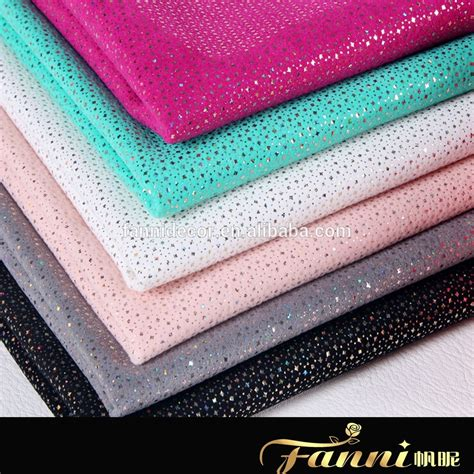 fabric for sheets pu glitter fabric sheet for fancy lady s shoes pu faux