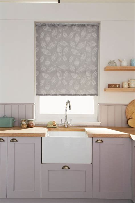 kitchen patterned roller blinds matching accessories to the fixtures within a room brings