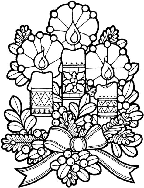 coloring pictures of christmas stuff coloriage noel